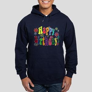Happy Birthday Hoodie (dark)