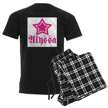 Star Alyssa! Men's Dark Pajamas