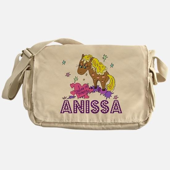 I Dream Of Ponies Anissa Messenger Bag