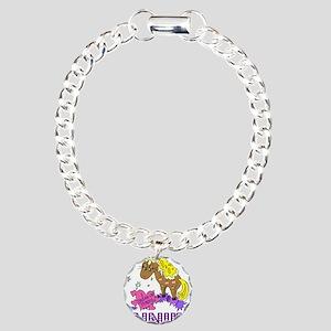I Dream Of Ponies Annika Charm Bracelet, One Charm