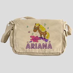 I Dream Of Ponies Ariana Messenger Bag