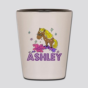I Dream Of Ponies Ashley Shot Glass