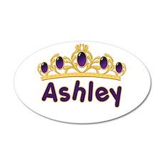 Princess Tiara Ashley Persona 22x14 Oval Wall Peel