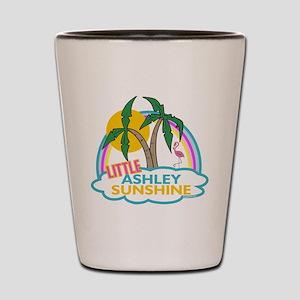 Island Girl Ashley Personaliz Shot Glass