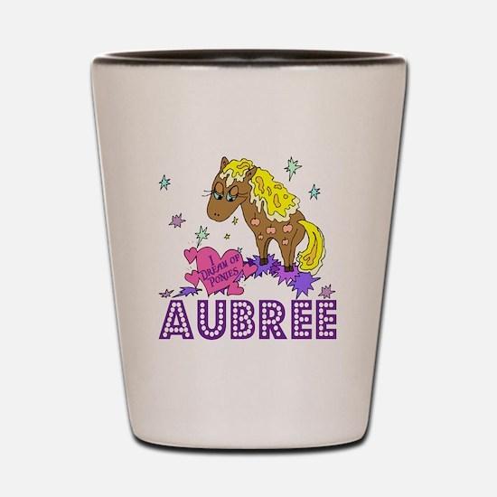 I Dream Of Ponies Aubree Shot Glass