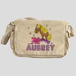 I Dream Of Ponies Aubrey Messenger Bag