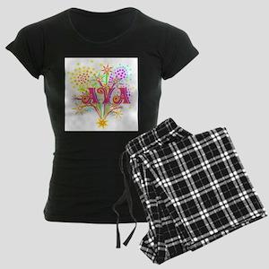 Sparkle Celebration Ava Women's Dark Pajamas