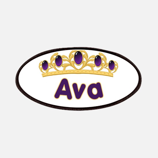Princess Tiara Ava Personaliz Patches
