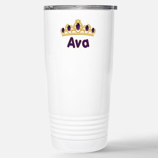 Princess Tiara Ava Personaliz Stainless Steel Trav