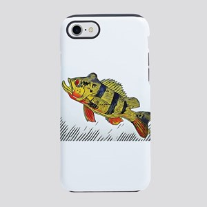 Peacock Bass Full Color iPhone 7 Tough Case