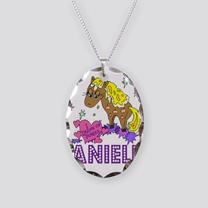I Dream Of Ponies Danielle Necklace Oval Charm