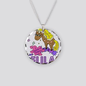 I Dream Of Ponies Delilah Necklace Circle Charm