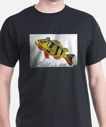 Peacock Bass Full Color T-Shirt