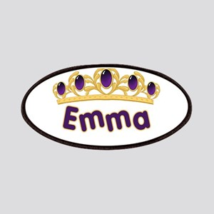 Princess Tiara Emma Personali Patches