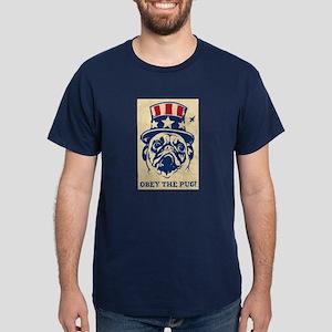 American PUG Revolution Black T-Shirt
