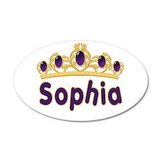 Princess Tiara Sophia Persona 22x14 Oval Wall Peel