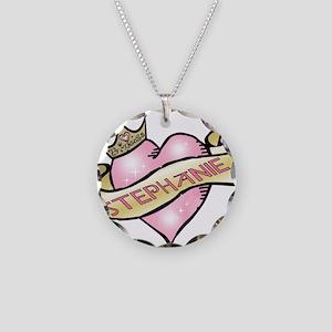 Sweetheart Stephanie Custom P Necklace Circle Char