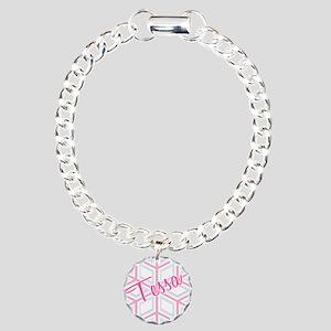 Snowflake Tessa Charm Bracelet, One Charm