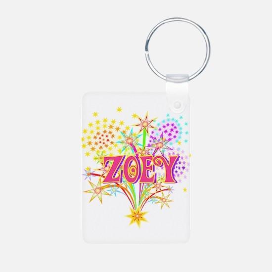 Sparkle Celebration Zoey Keychains