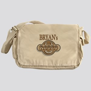 Bryan's Rodeo Personalized Messenger Bag