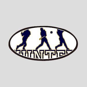Baseball Hunter Personalized Patches