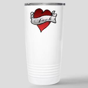 Jack Tattoo Heart Stainless Steel Travel Mug