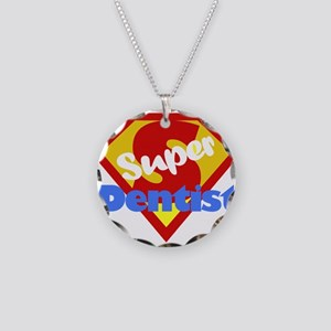Super Dentist DDS Necklace Circle Charm