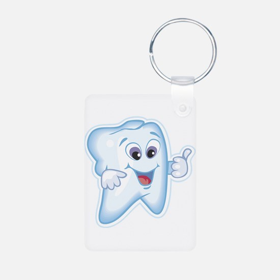 Healthy Happy Tooth Keychains
