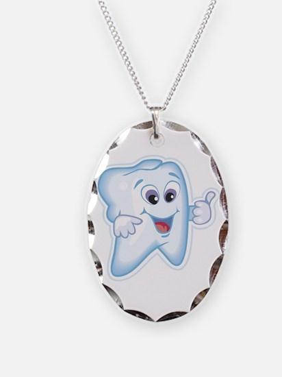 Healthy Happy Tooth Necklace
