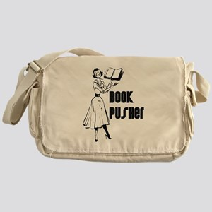 Book Pusher Messenger Bag