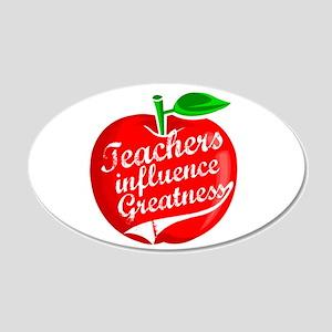 Teacher Gifts! 22x14 Oval Wall Peel