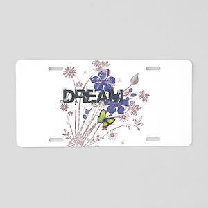 BLUE DREAM Aluminum License Plate