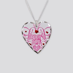 Daddy's Girl Necklace Heart Charm