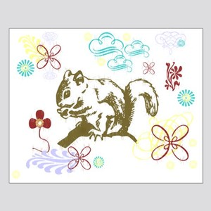 Squirrely Small Poster