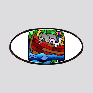 Noah's Ark Stained Glass Patches