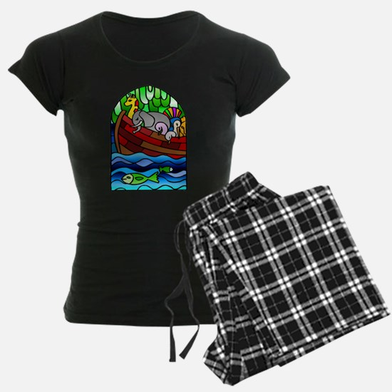 Noah's Ark Stained Glass Pajamas