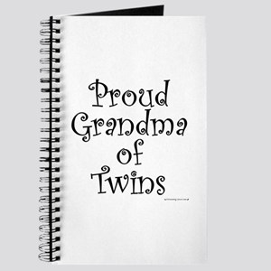 Proud Grandma of Twins Journal