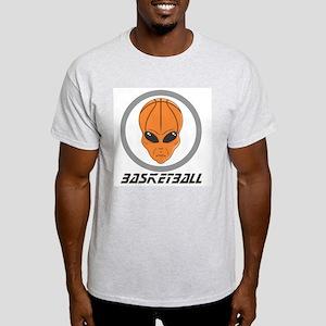 Alien Basketball Ash Grey T-Shirt