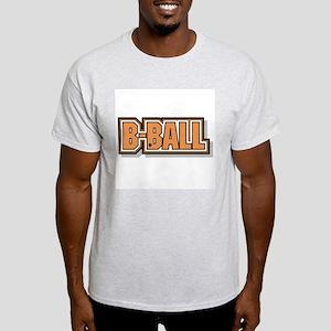 B-BALL Ash Grey T-Shirt