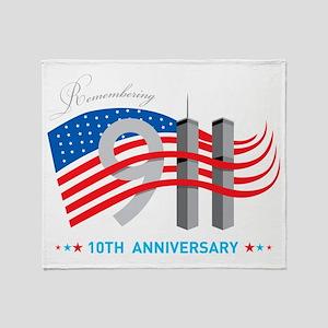911 - 10th Anniversary Throw Blanket