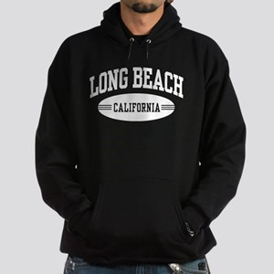Long Beach California Hoodie (dark)