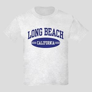 Long Beach California Kids Light T-Shirt