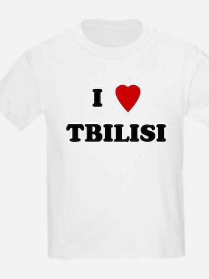 I Love Tbilisi Kids T-Shirt