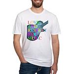 kuuma music 4 Fitted T-Shirt
