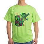 kuuma music 4 Green T-Shirt