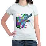 kuuma music 4 Jr. Ringer T-Shirt