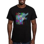 kuuma music 4 Men's Fitted T-Shirt (dark)