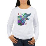 kuuma music 4 Women's Long Sleeve T-Shirt