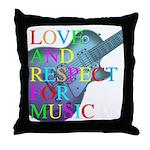 kuuma music 4 Throw Pillow