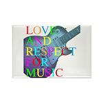 kuuma music 4 Rectangle Magnet (100 pack)